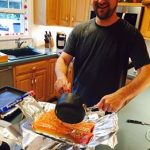Honey Garlic Butter Salmon In Foil